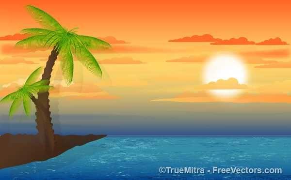 Sunset Landscape - FREE