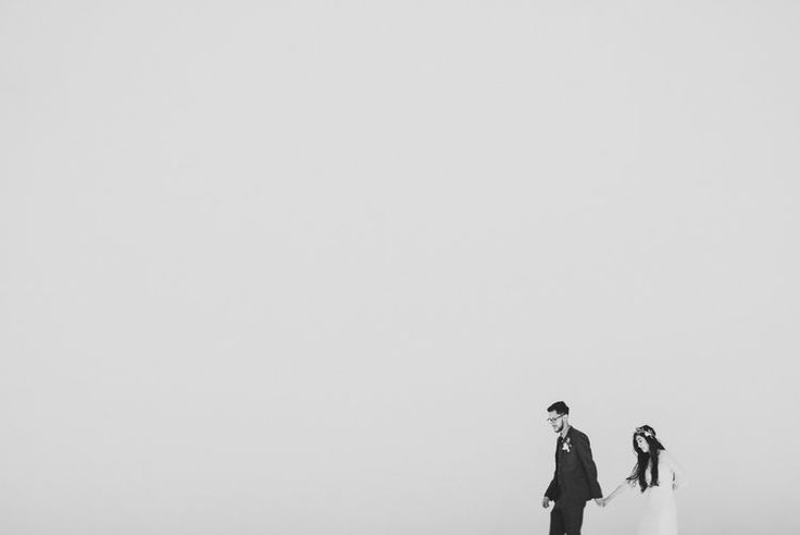 Simple minimal wedding portraits.  IsaiahAndTaylor.com  Oak Canyon Nature Center Wedding, Anaheim Hills.  Orange County outdoor wedding venue. Oak tree ceremony wedding venue, Southern California. Bohemian wedding dress inspiration. Costa Mesa wedding portraits. Minimal white wedding portrait photography. Orange County Wedding Photographers. Los Angeles Wedding Photographer. Isaiah & Taylor Photography