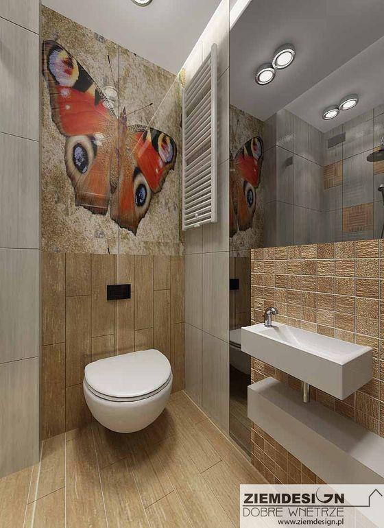 Laminografika w łazience
