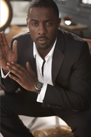 """Idris Elba    - On his taste in women:  """"You see actors with models and actresses, and it's so cliche...I'd rather date someone who's regular."""""""