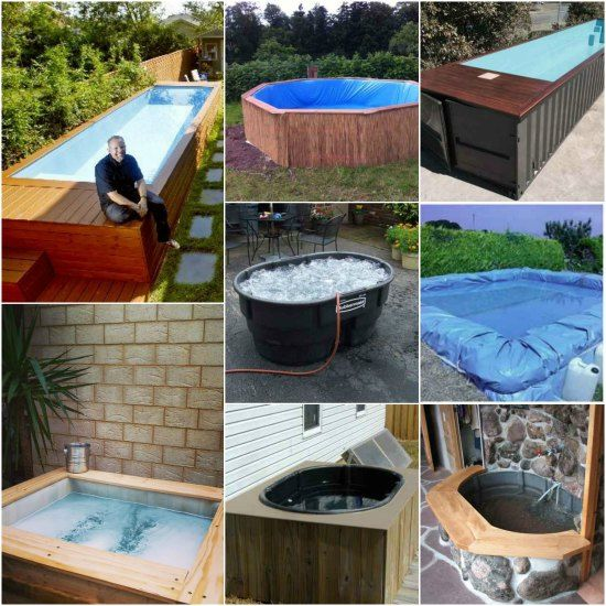 Need To Cool Off Or Relax And Unwind Tired Muscles? Here Are Several Types  Of DIY Hot Tubs And Swimming Pools That You Can Construct For Youru2026