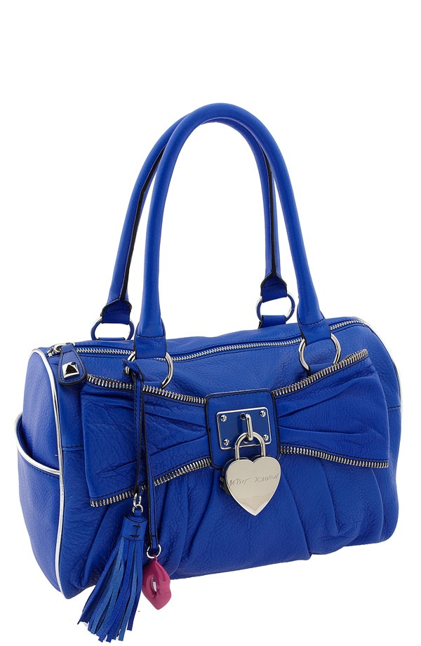Betsey Johnson Handbags   betsey johnson blue bag