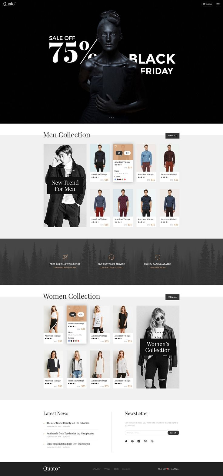 Ecommerce WordPress Themes #WEB #DESIGN