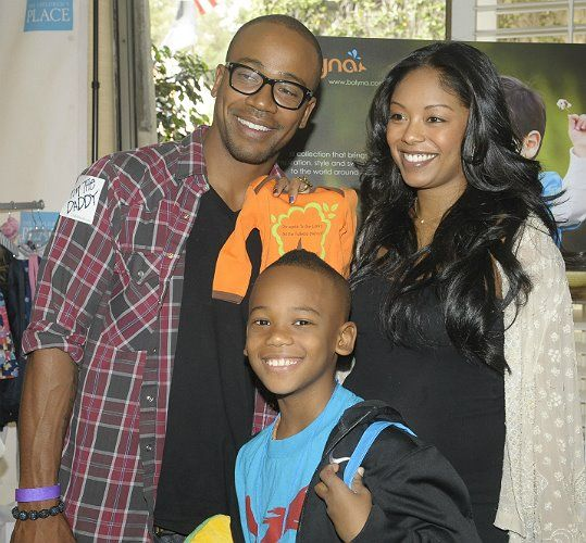 Actor Columbus Short, wife actress Tanee McCall-Short and ...