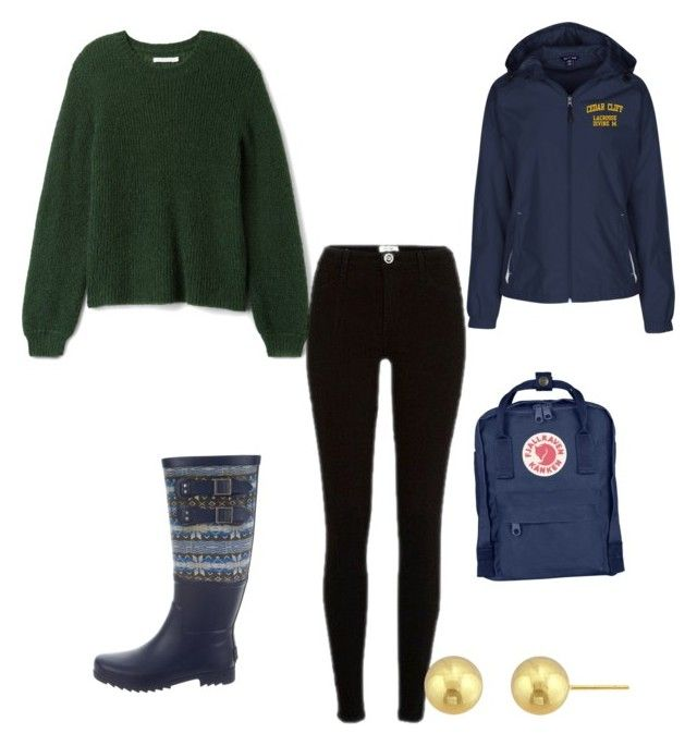 """""""I Think That Maybe"""" by gryffashionor on Polyvore featuring River Island, UGG and Fjällräven"""