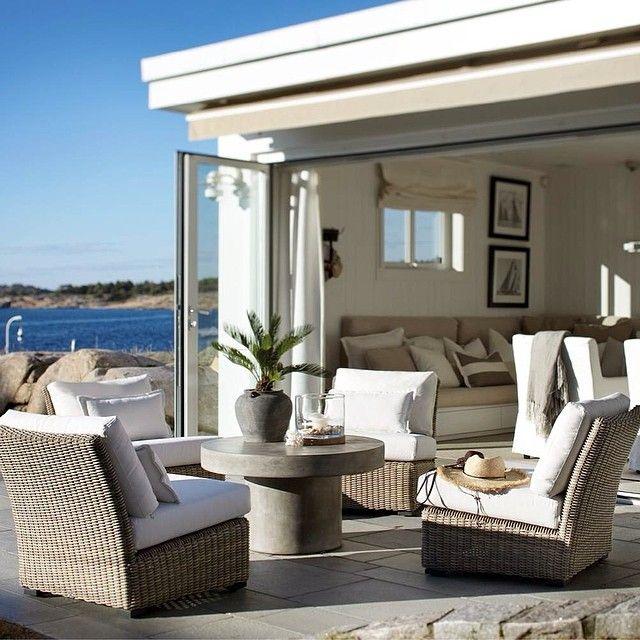 Seamless indoor outdoor living.