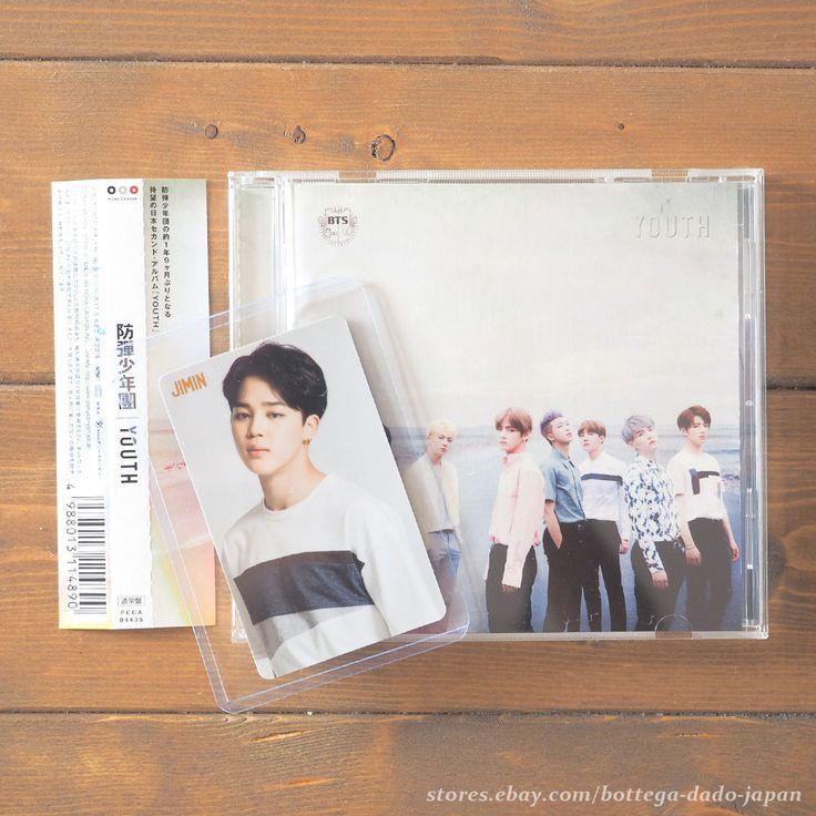 BTS YOUTH / JIMIN official photo card + CD Japan ver. K-POP bangtan boys