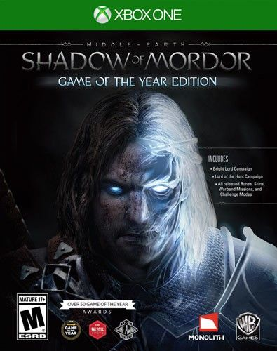 Middle-Earth: Shadow of Mordor Game of the Year Edition - Xbox One - Larger…