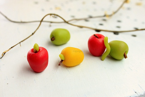 Marzipan Apples