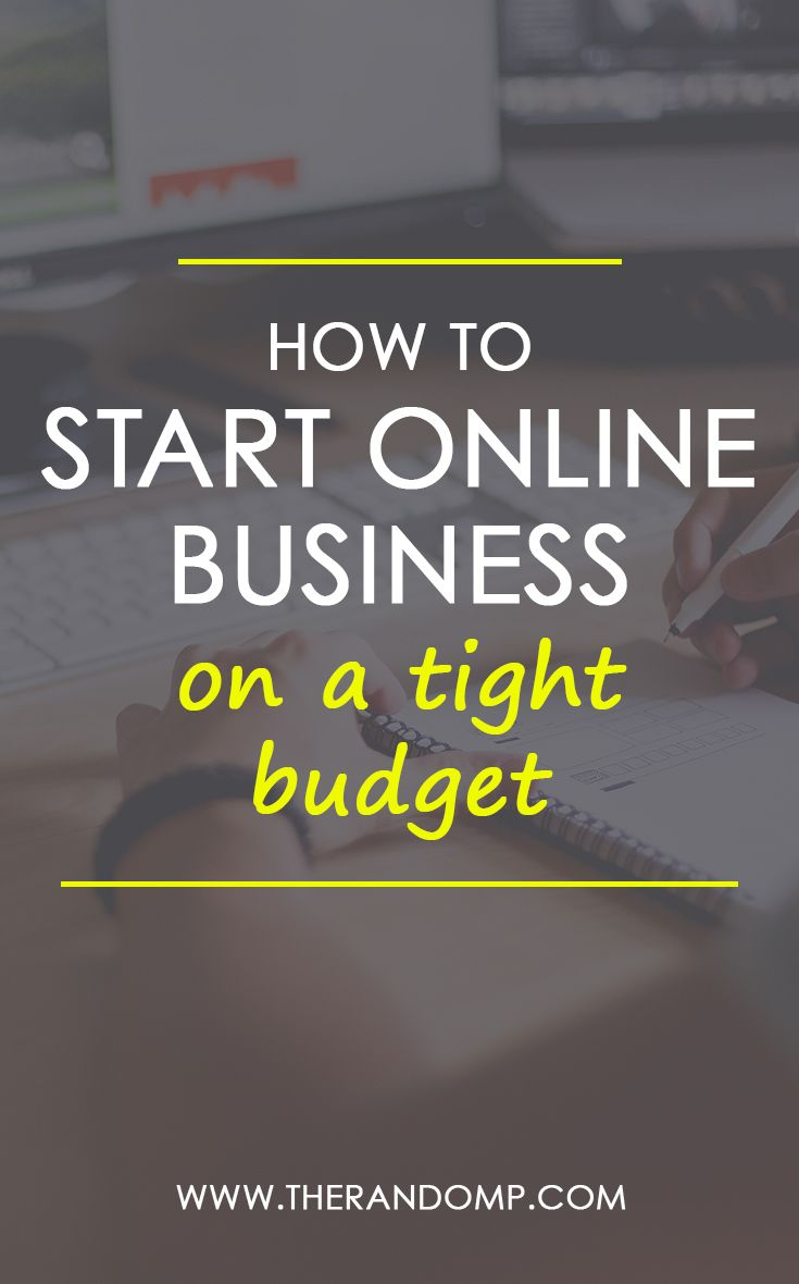 Are you interested in starting online business but have lack of the budget to invest? Here's a guide to your own business created on a tight budget. Yes, it is possible to start your own business with $0! Here's how to get started:  https://www.therandomp.com/blog/starting-business-online/