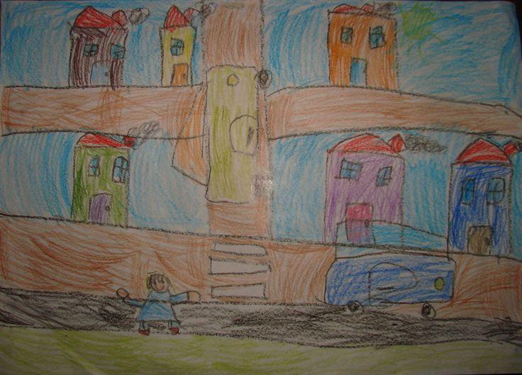 A tu całe miasteczko widziane oczyma 5-letniej Julci