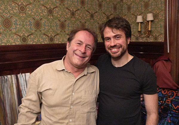 MAPS Founder Rick Doblin, Ph.D., and Asana Co-Founder Justin Rosenstein at a fundraising event in San Francisco, California, on December 3, 2016.