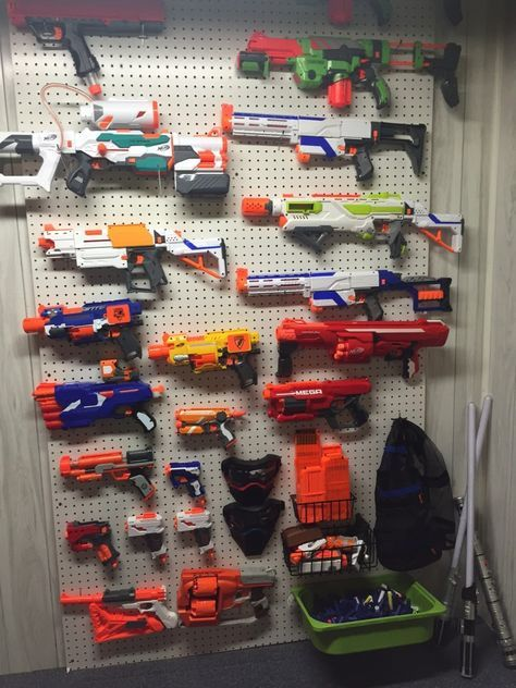 Heres how to build an easy Nerf gun battle wall for under