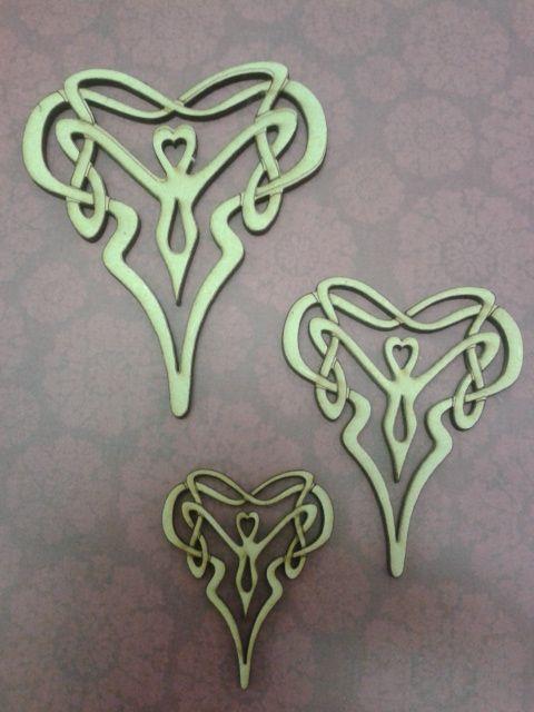 Celtic style heart