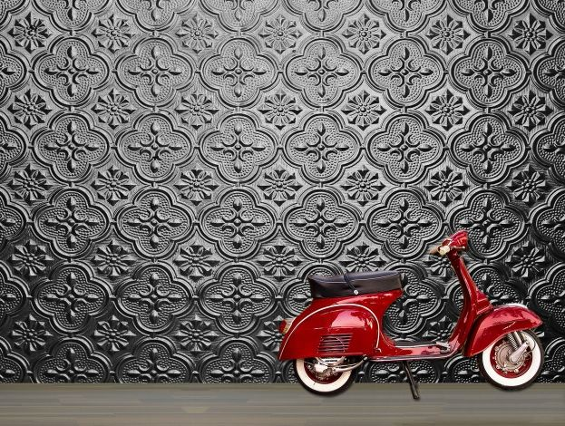 17 Best Images About Pressed Tin Paintable Wallpaper On