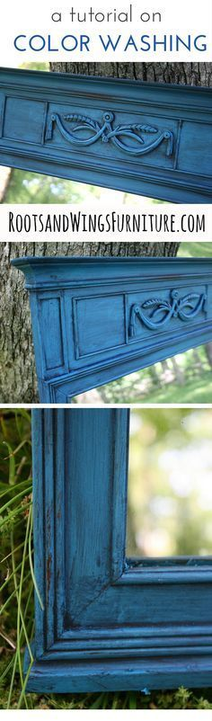 Color Washing Video Tutorial | How to get a layered paint look — by Jenni of Roots & Wings Furniture LLC
