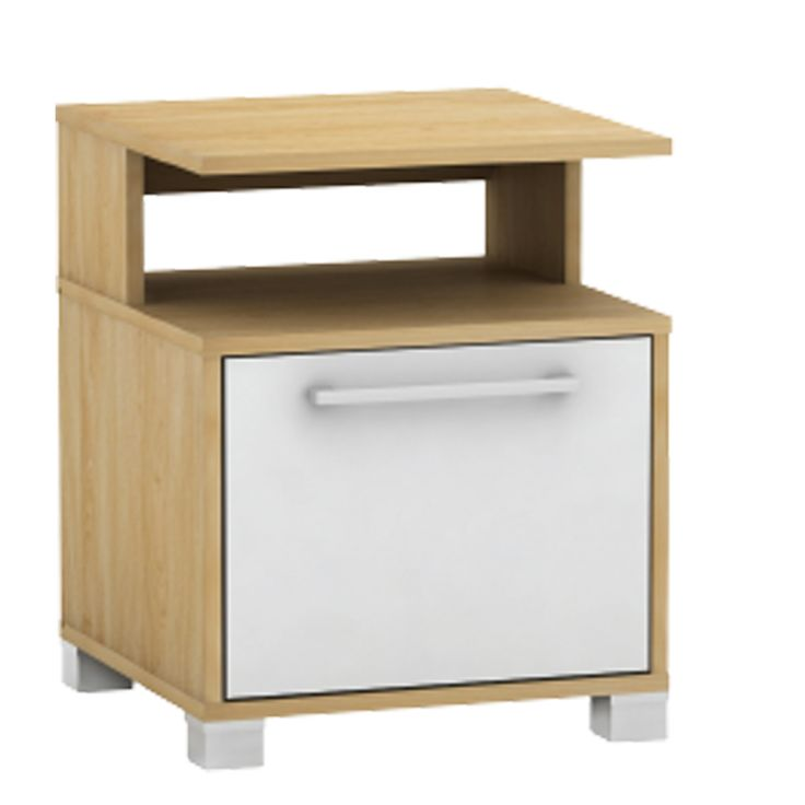 Bedside table Decon MB hue birch white 40x40x50 Ε7723,7-ΜΒ