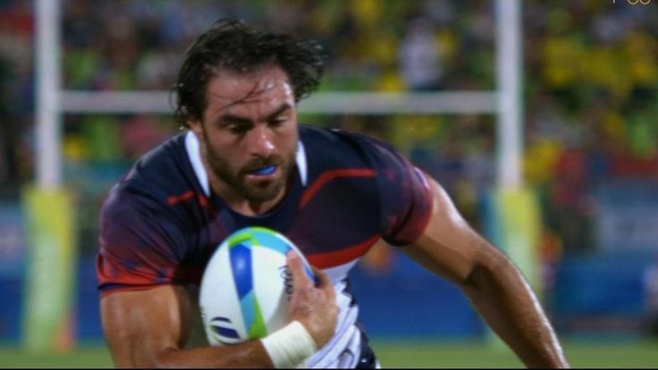 NFL safety Nate Ebner leads U.S. to first Olympic men's rugby sevens win ever | NBC Olympics