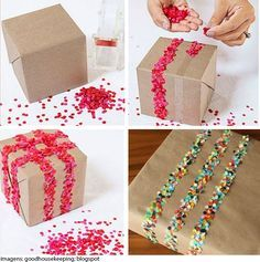 Já comprou o presente da sua mãe mas ainda não sabe como fazer para deixa-lo ainda mais especial? Vem aprender com a gente como embrulhar!!