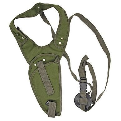 Right Handed Vertical Shoulder Holster - OD Green