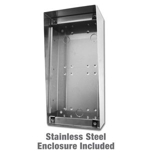 Stainless steel wall box surface mount enclosure