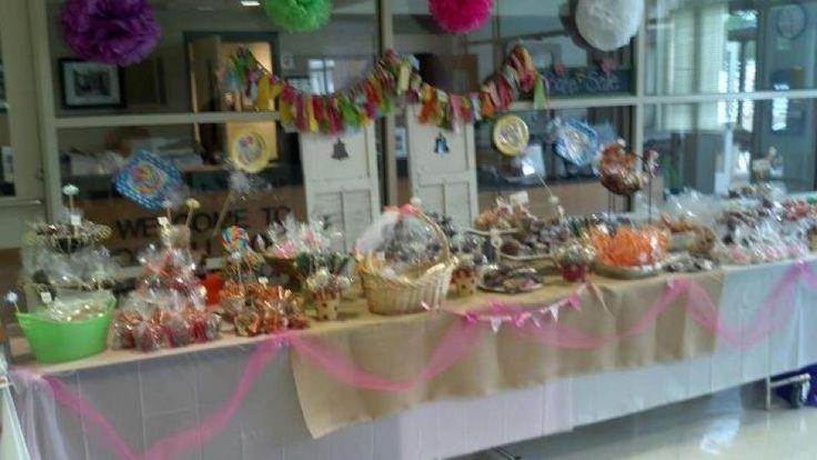 Beautiful Bake sale display!