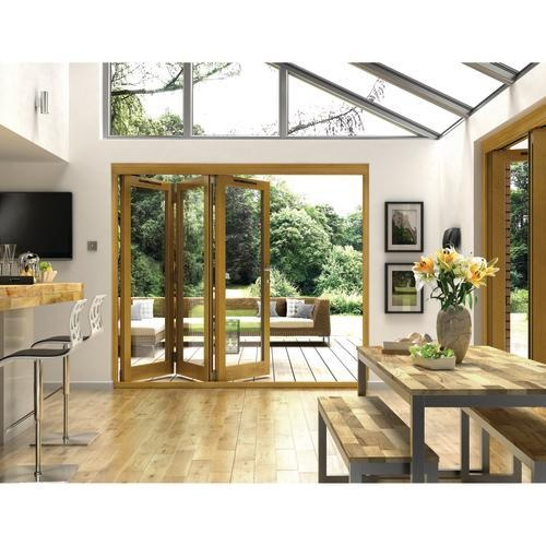 Oak Folding Doors Roof Too Open SR Likes Wood But Not Oak Folding Not The  Problem, Is Ultra Modern Look Thatu0027s The Problem