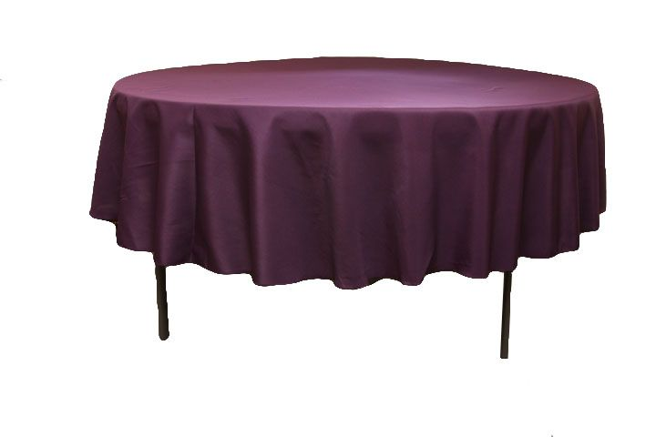90 Inch Round Christmas Tablecloth