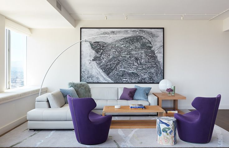 Inside A Contemporary High-Rise Beside The San Francisco