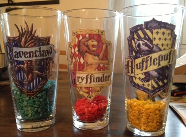 Harry Potter classroom - House cup - Compteurs de points des maisons