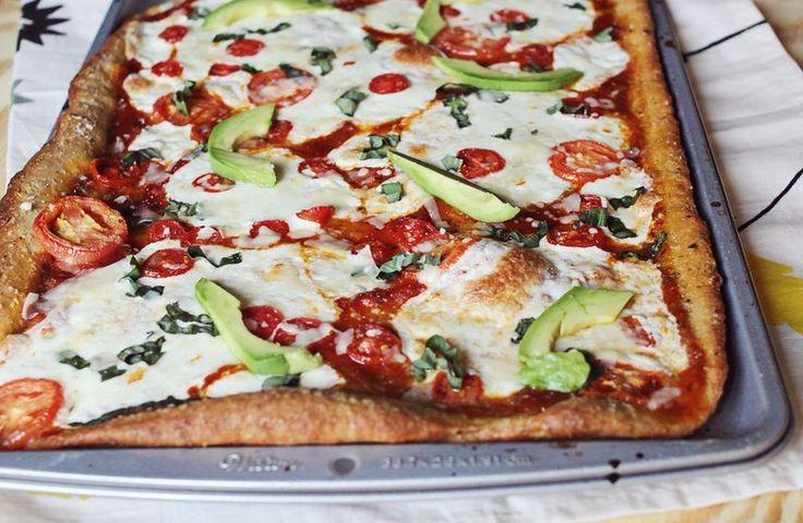 Best homemade pizza recipe www.abeautifulmess.com