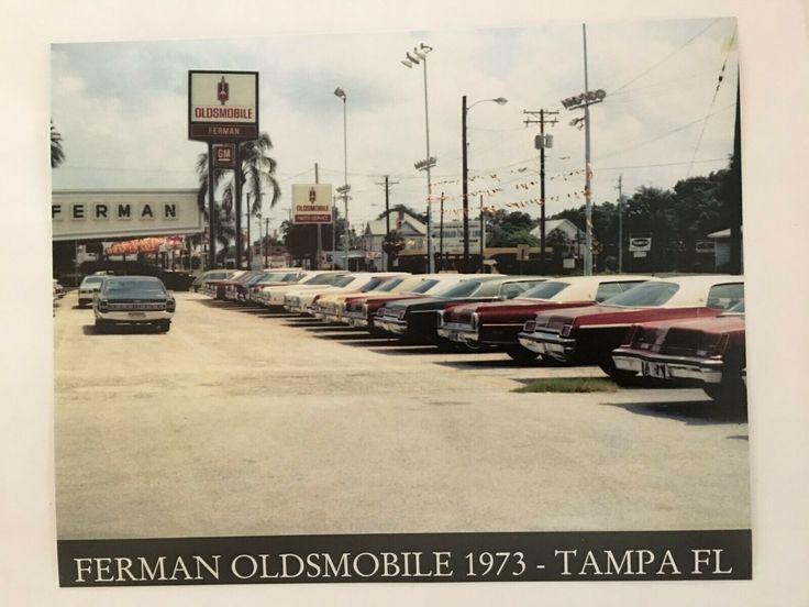 1973 Ferman Oldsmobile Dealership, Tampa, Florida