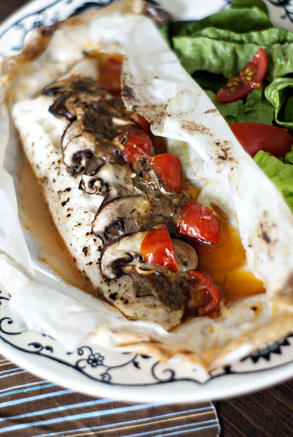 Fish en Papillote {Fish in Parcel}. One of my most favorite ways to cook fish!
