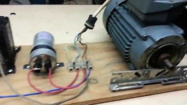 How To Wire A 3 Phase Motor To Single Phase Basic Electrical Wiring Electrical Projects Electrical Circuit Diagram