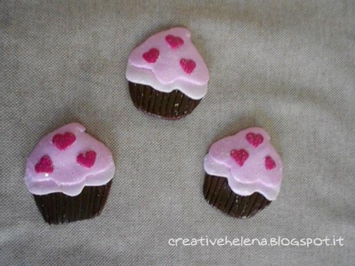 CreativeHelena: cupcakes magnet
