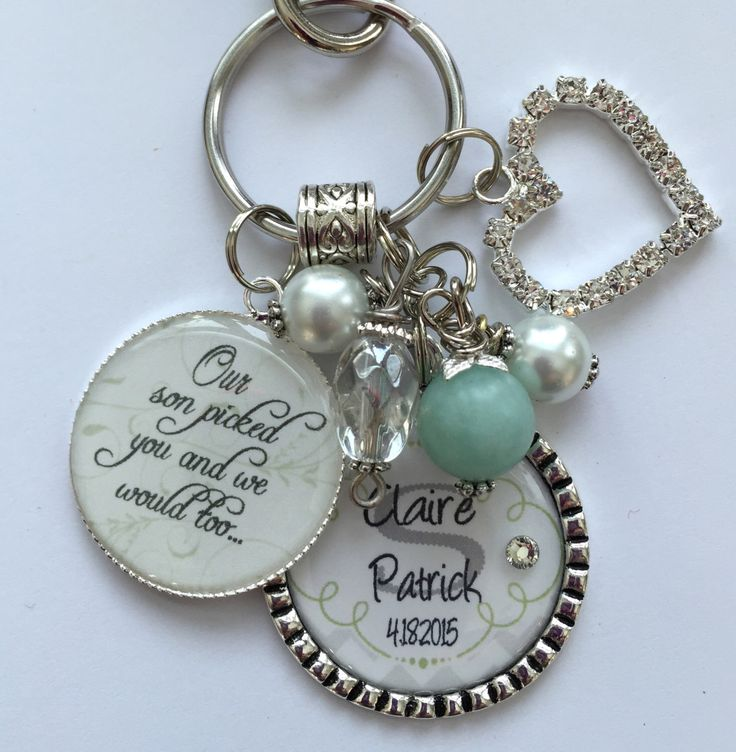 Jewelry Wedding Gift For Daughter : ... daughter-in-law-gift-personalized wedding jewelry Pinterest