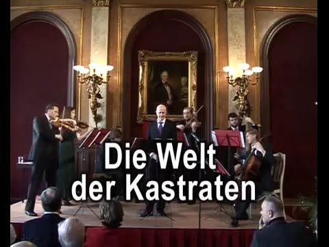 Arno Argos Raunig - Mozart The World of Castrati - male-soprano, sopranist - YouTube