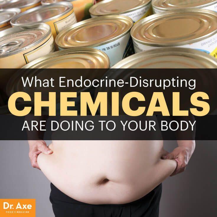 Endocrine disruptors - Dr. Axe http://www.draxe.com #health #natural #holistic