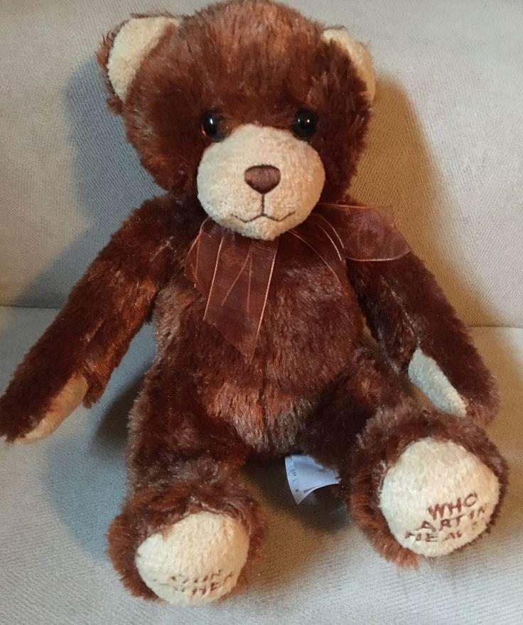 Princess Soft Toys Melissa and Doug Lord's Prayer Bear plush stuffed teddy  | eBay