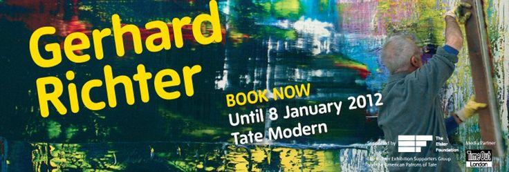 Gerhard Richter, exhibition at Tate Modern, Southbank