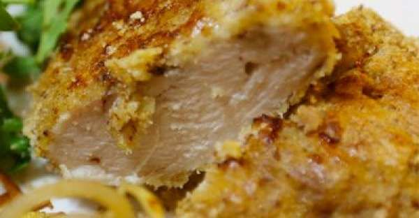Crunchy Baked Chicken Recipe.  This chicken breast recipes for Crunchy Baked Chicken is one of the best chicken breast recipes you will try. This healthy chicken breast recipes can be made with gluten-free ingredients if you'd like.  CLICK VISIT for FULL RECIPE!