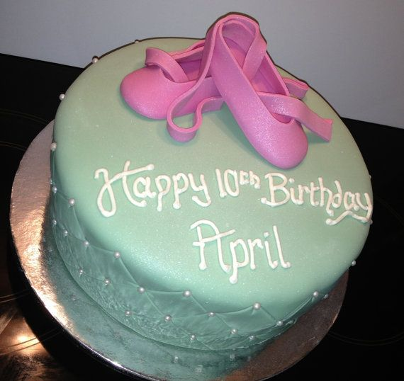Ballet Shoe / Ballerina Cake, Kids Childrens Birthday Cake, Noosa Sunshine Coast Cake Shop, Made to Order with Delivery