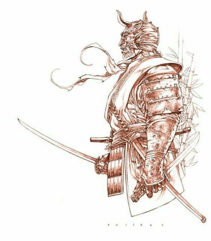 собственных картинки наколки самураи максим