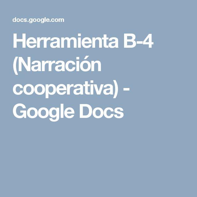 Padlet. Herramienta B-4 (Narrativa cooperativa) Se trata de la herramienta Padlet, con la que crear historias de forma cooperativa rápidamente.