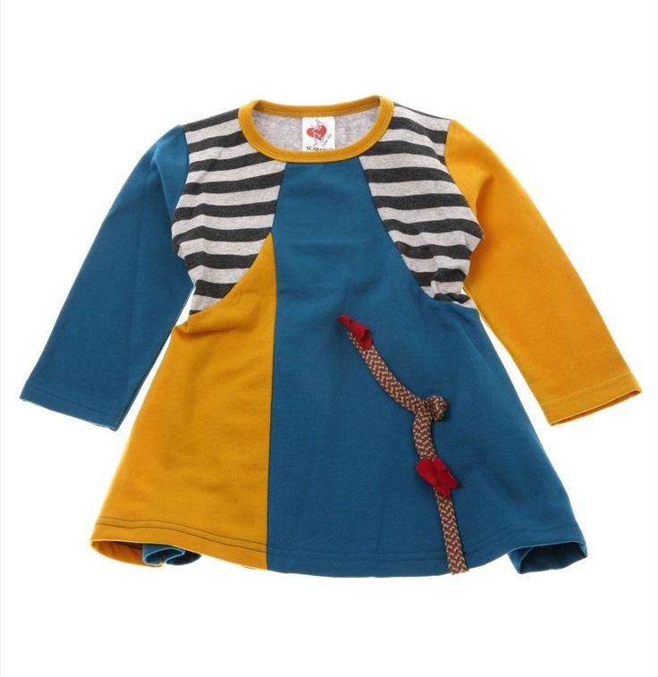 Scarabeo παιδικό φόρεμα «One Line»  €12,90