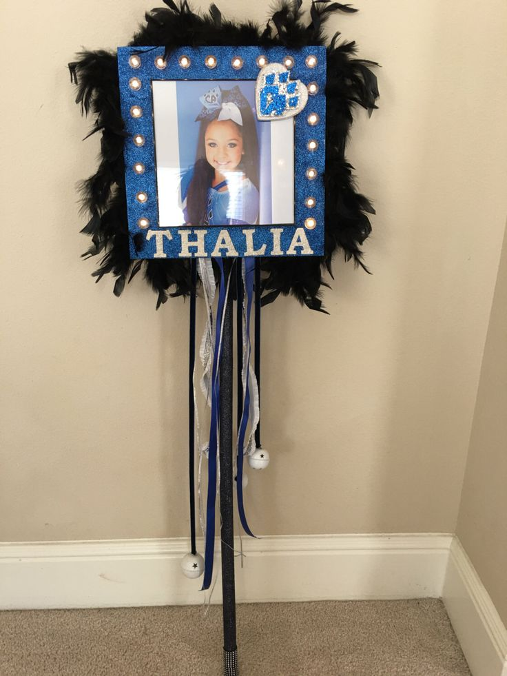 Cheer Spirit Stick by LarahLux on Etsy https://www.etsy.com/listing/277926406/cheer-spirit-stick