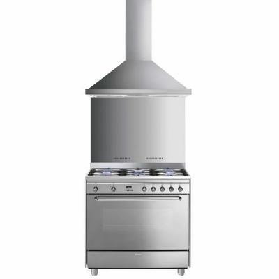Piano de cuisson mixte SMEG GM90KITKDCX - Achat / Vente cuisinière - piano - Cdiscount