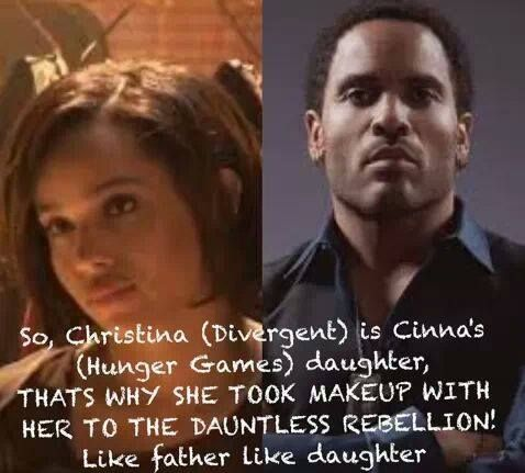 They're actually father and daughter in real life...lol. I knew this as soon as her casting was announced.