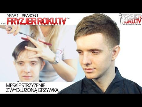Мужская стрижка в стиле сайкобилли Men's Hair Styles With Side Parting. парикмахер тв parikmaxer.tv - YouTube
