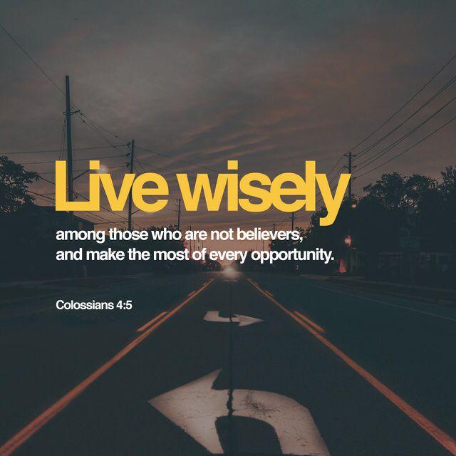 Colossians 4:5